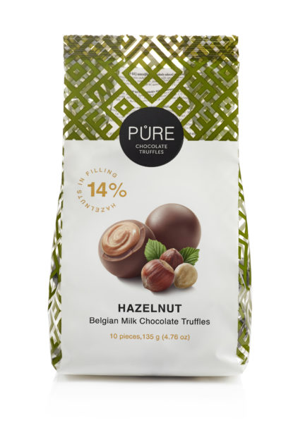 CHOCOLATE TRUFFLES HAZELNUT