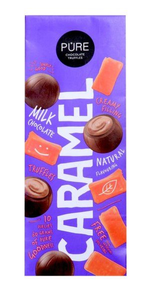 MILK CHOCOLATE TRUFFLES CARAMEL