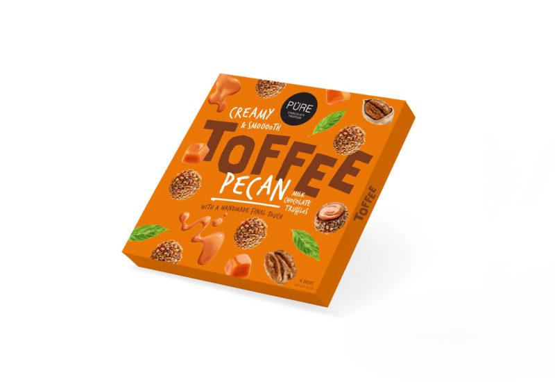 MILK CHOCOLATE TRUFFLES TOFFEE